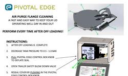 Pivotal Edge Australia - Air Purge Flange Cleaning